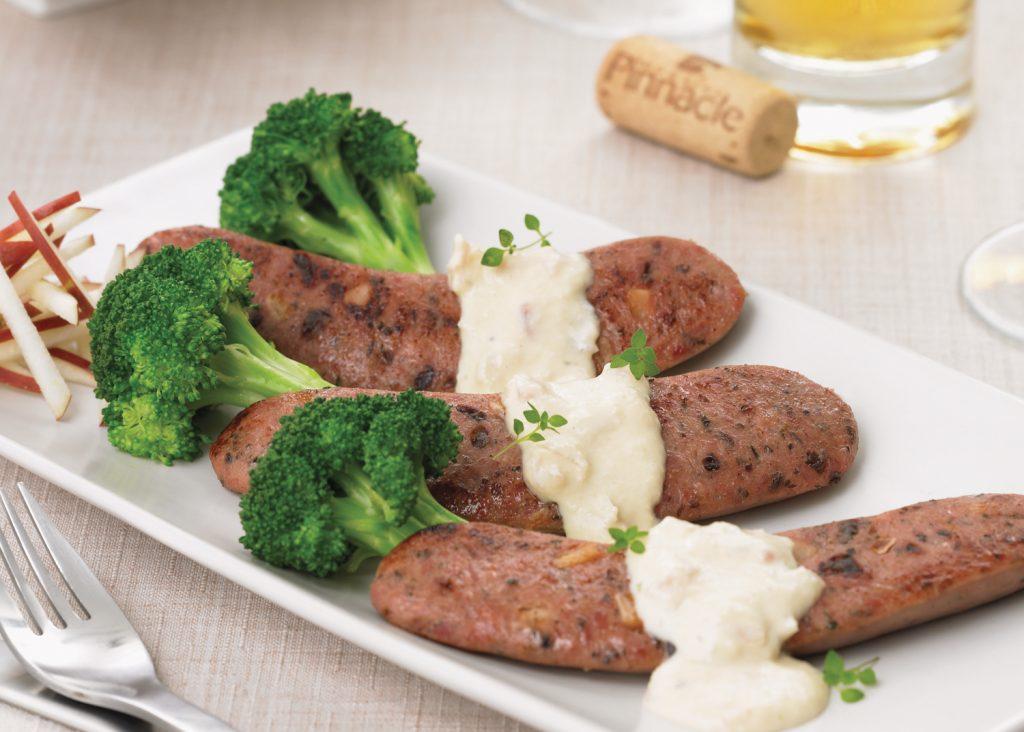 recette de saucisses de canard au cidre de glace