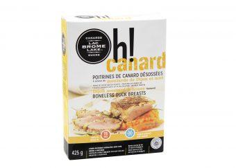 Dijon mustard duck breast