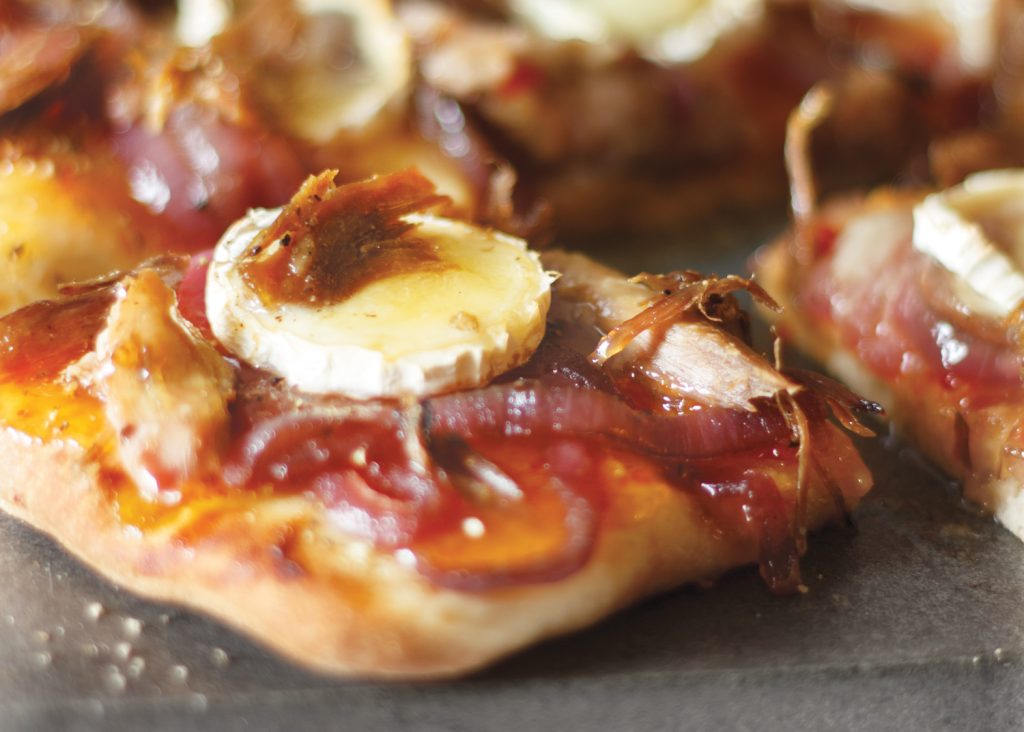recette pizza au canard