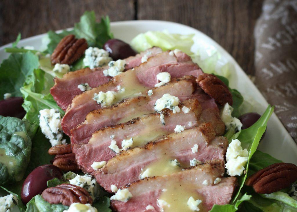 salade bleu