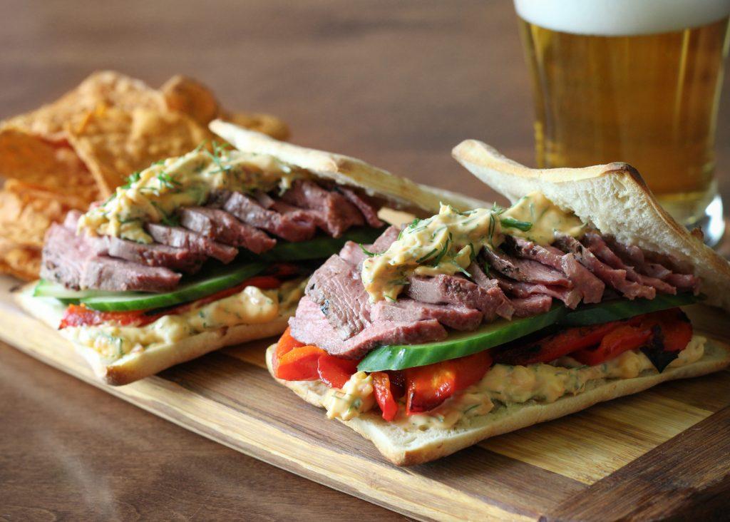 recette sandwich canard