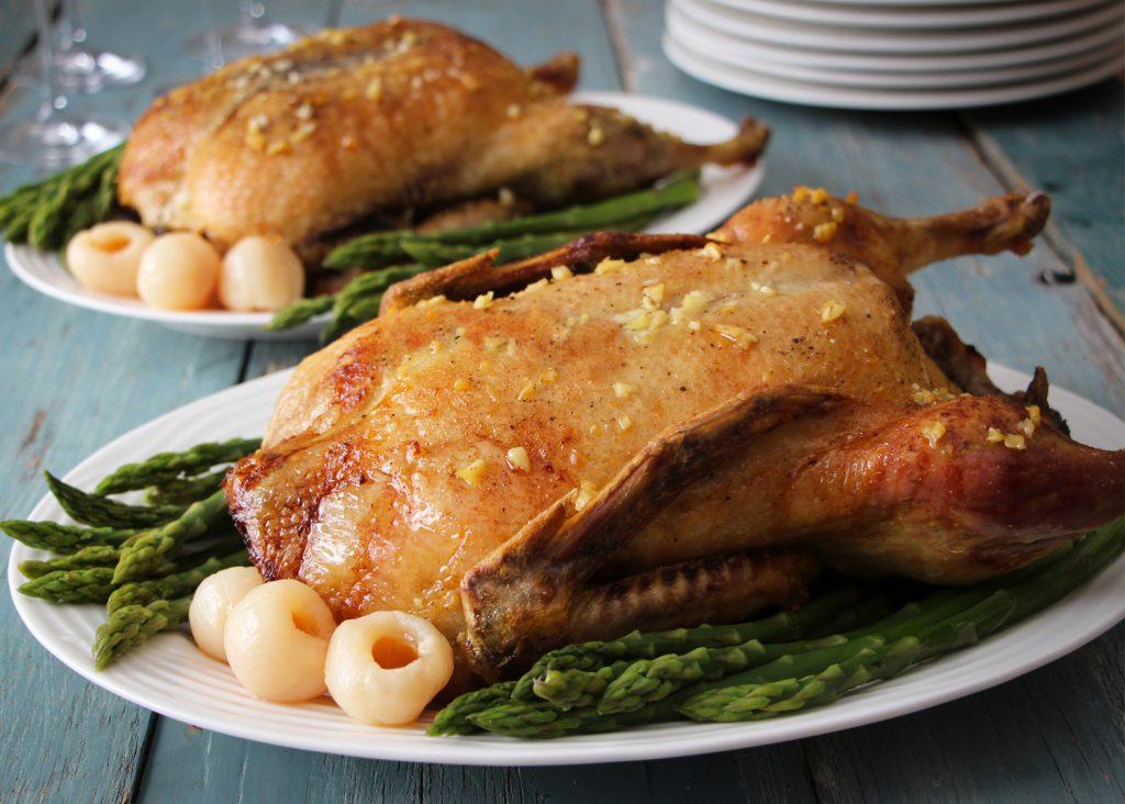 recette de canard aux litchis