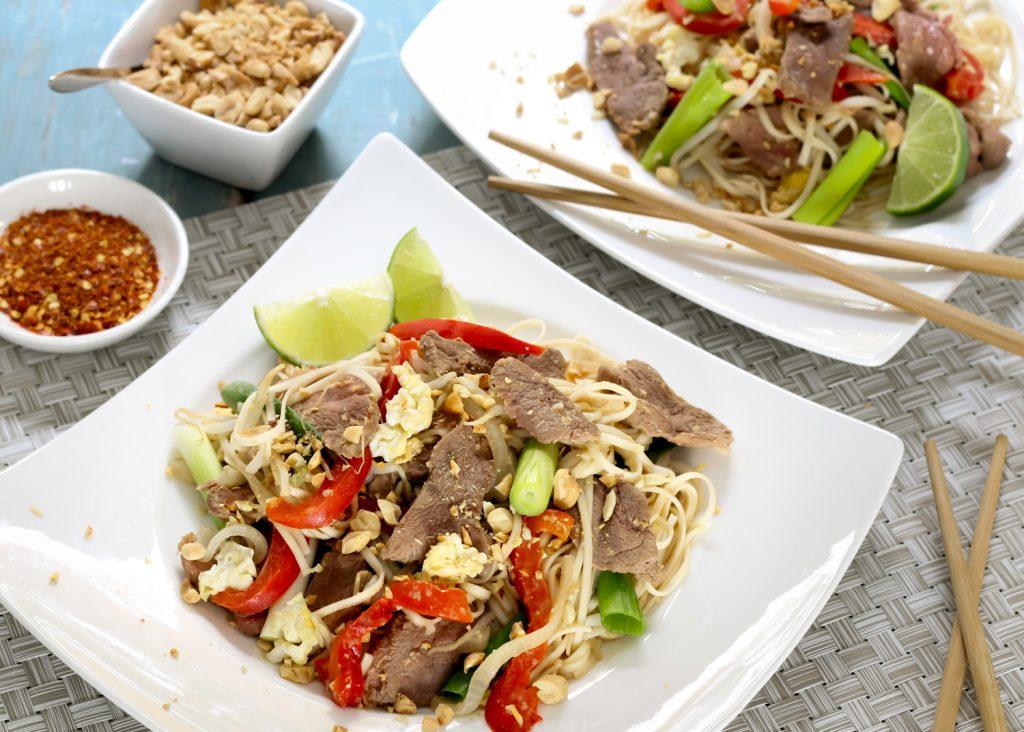 pad thai au canard