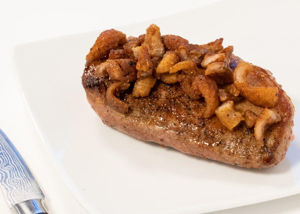 Steak de canard