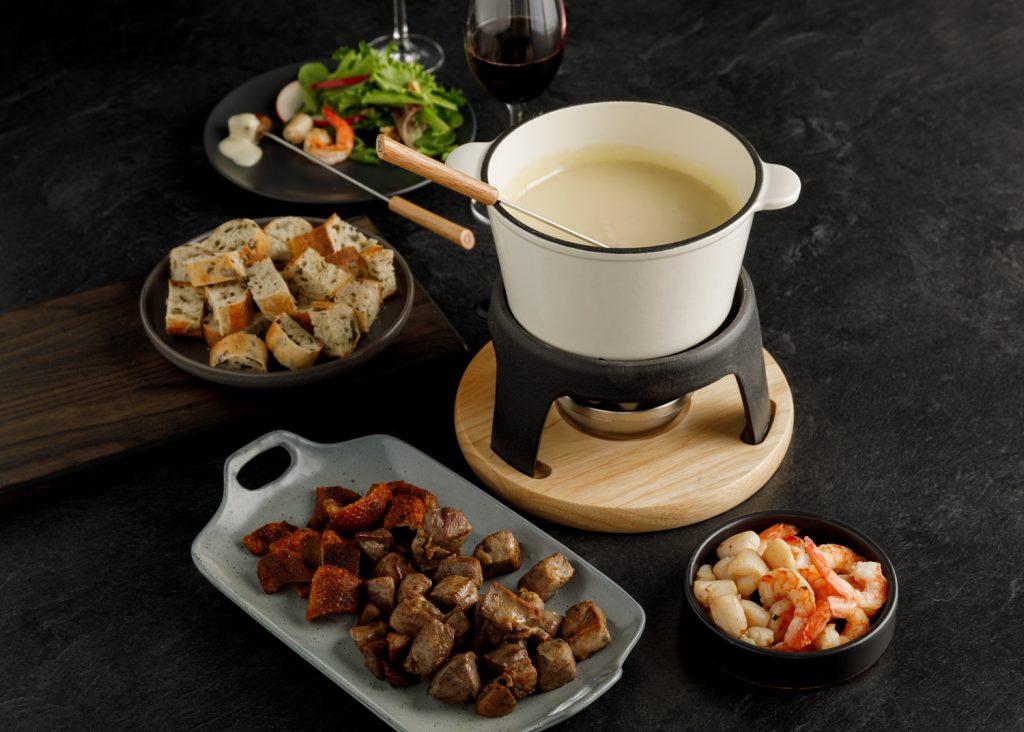 fondue fromage canard